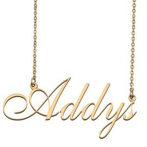 Custom Personalized Addys Name Necklace